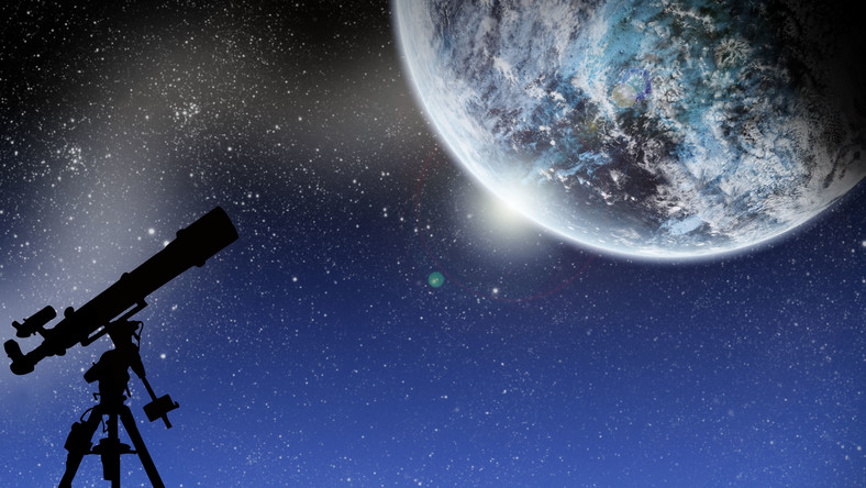 teleskop niebo planeta