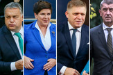 Viktor Orban, Beata Šidlo, Robert Fico i Andrej Babiš