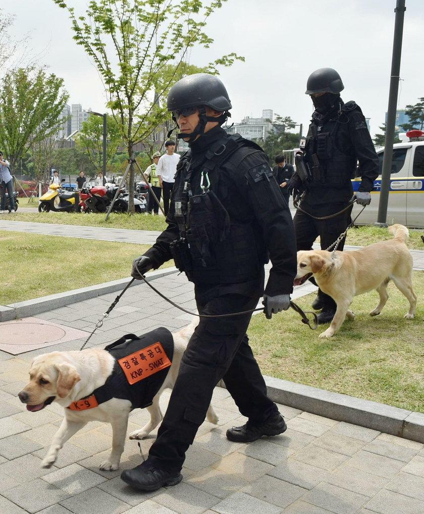 Wybuch na Uniwersytecie Yonsei w Seulu