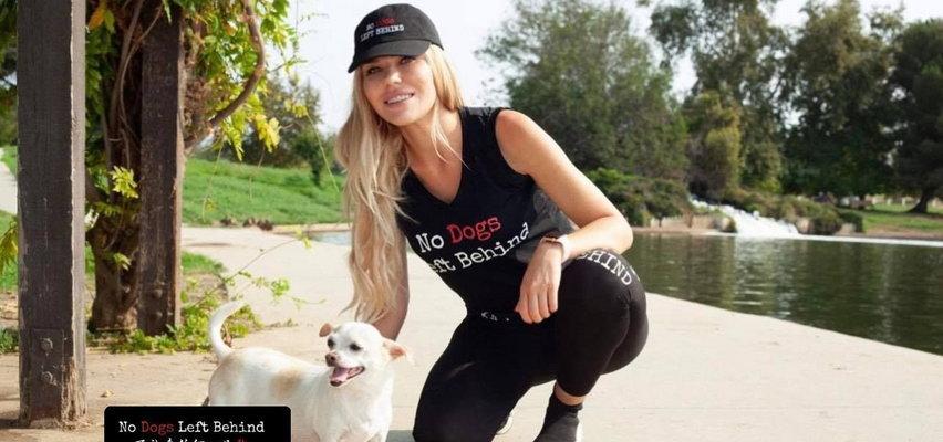 Joanna Borov w słonecznej Kalifornii wspiera akcję ratującą psy