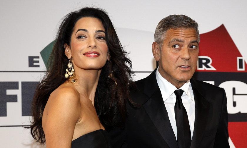 George Clooney z narzeczoną we Włoszech