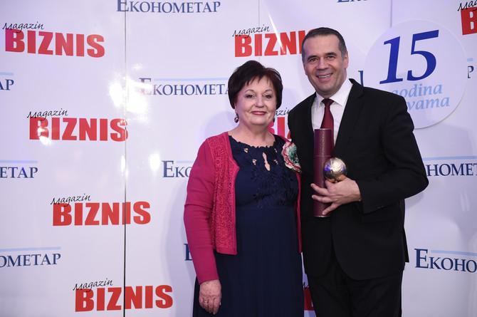 Dragan Filipović dobitnik priznanja  Planeta Biznis