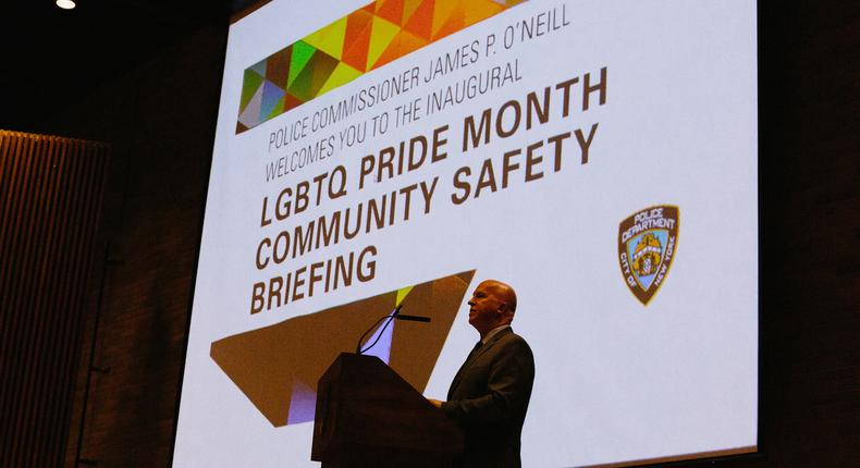 Pride, welcoming to all, but what about police?