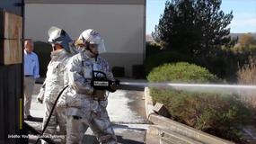 """PyroLance - strażacki """"pistolet na wodę"""" przecinający stal"""