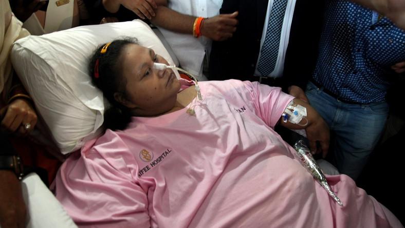 Eman Ahmed, najtęższa kobieta świata, nie żyje