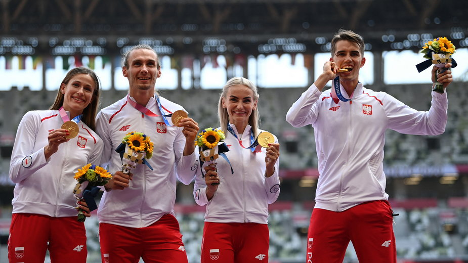 Polska sztafeta odebrała złote medale