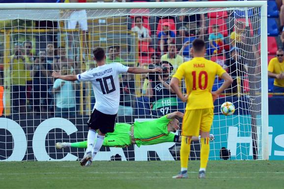 Detalj sa meča mladih reprezentacije Nemačke i Rumunije