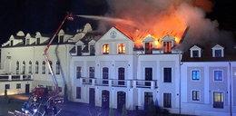 Dom pielgrzyma płonął jak pochodnia