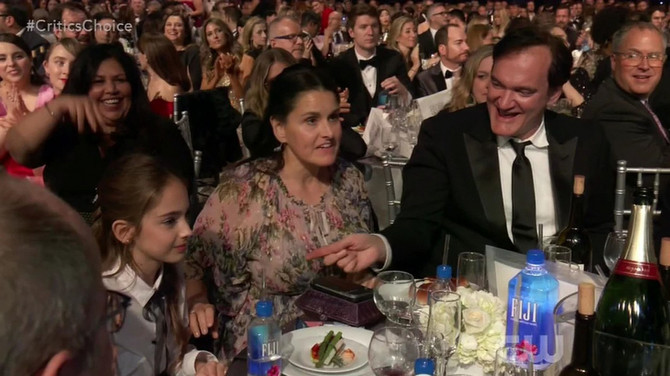 Kventin Tarantino i Julija Baters