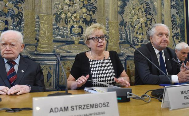 Małgorzata Gersdorf, Andrzej Rzepliński, Adam Strzembosz, Dariusz Zawistowski