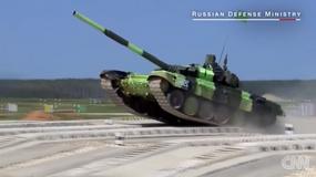 T-14 Armata - tak wyglądają nowe rosyjskie czołgi w akcji