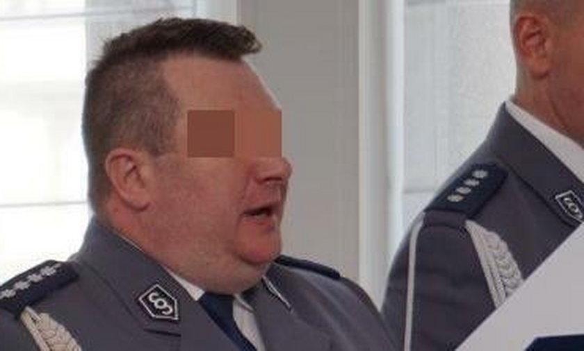 Okradał policję i... dostał awans