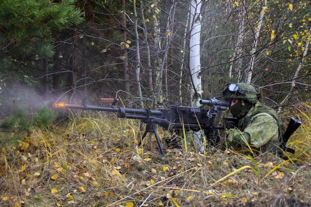 Taktyczne ćwiczenia specnazu Zachodniego Okręgu Wojskowego
