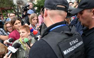 Janina Ochojska nie została wpuszczona do Sejmu