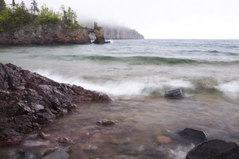 Jezioro Górne - tutaj zginęli
