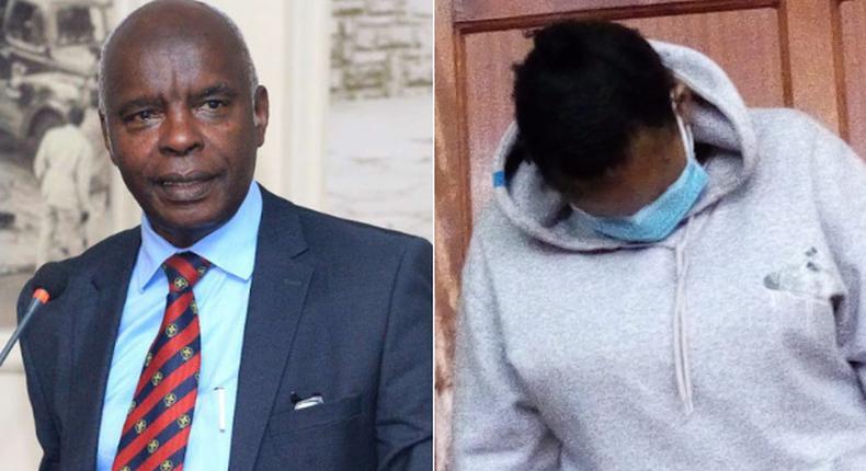 Makueni Governor Kivutha Kibwana and Esther Nthenya Muli, Makueni resident accused of attempted murder