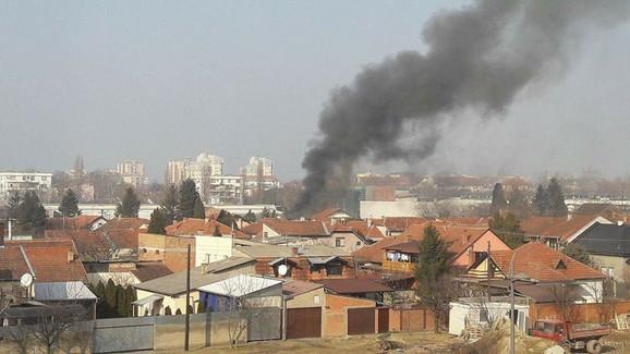 Požar u Novom Sadu