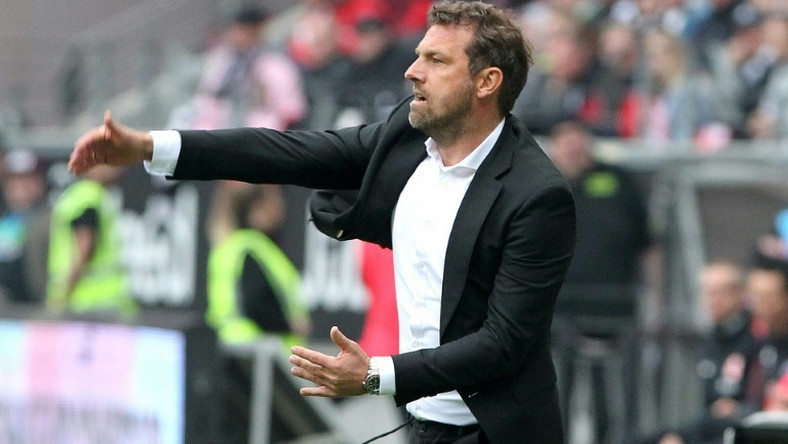 Stuttgart have sacked coach Markus Weinzierl after a humiliating defeat to relegation rivals Augsburg