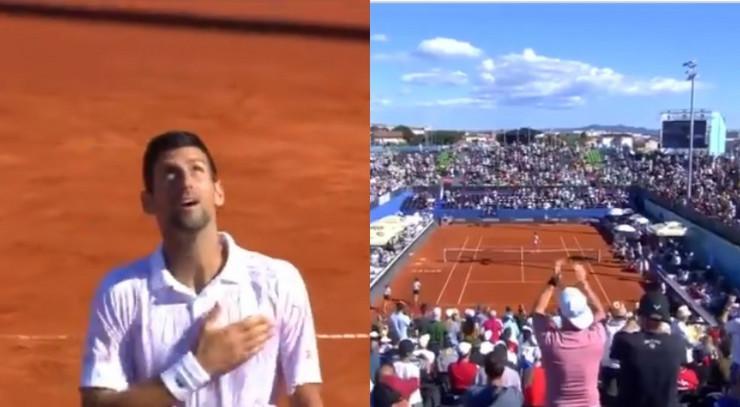 Novak Đoković na Adria Tour u Hrvatskoj