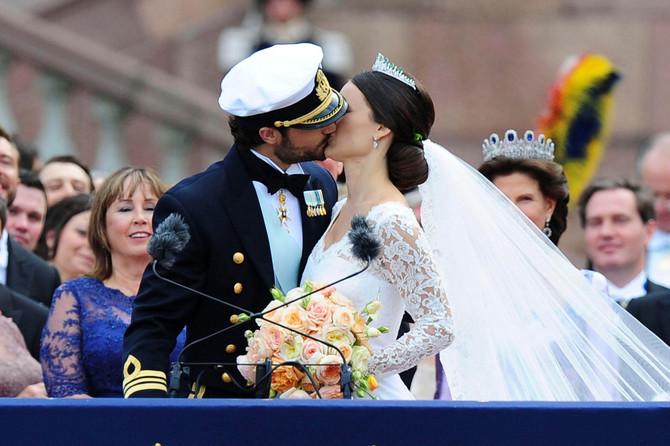 Venčanje princeze Sofije i princa Karla Filipa