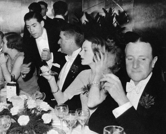 Zabava povodom veridbe sa Čarlsom Svinijem