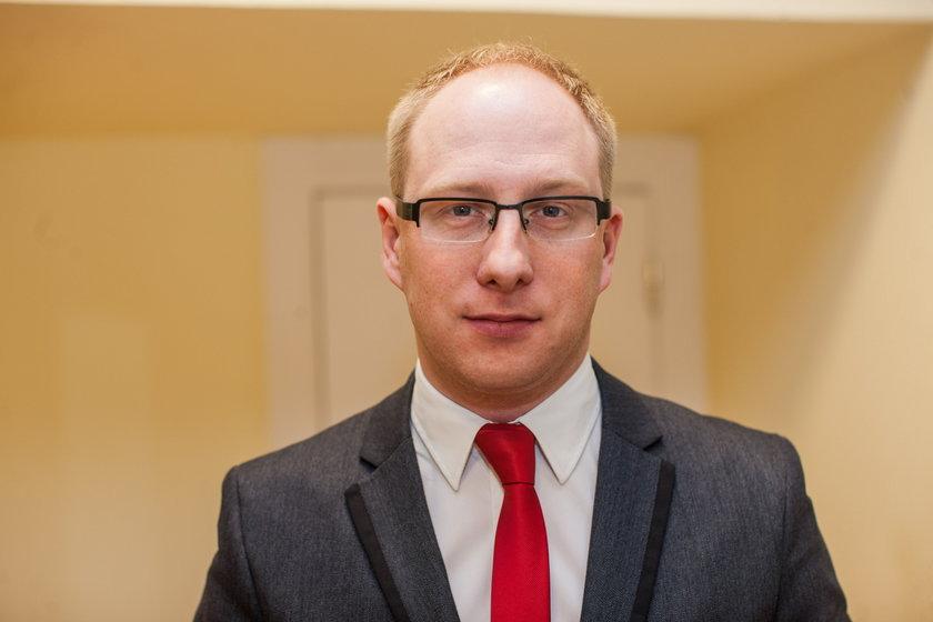 Paweł Marciniak z poznańskiego magistratu