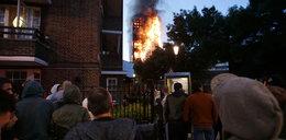 Żenujący żart reportera pod spalonym wieżowcem. Powiedział to do chłopca, który ocalał...