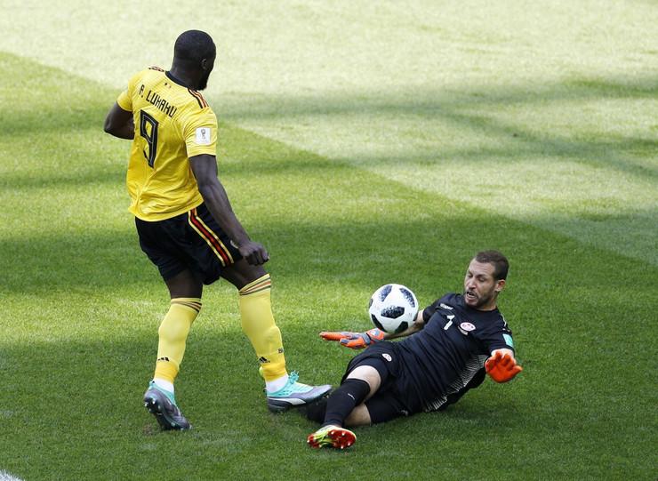 Fudbalska reprezentacija Belgije, Fudbalska reprezentacija Tunisa