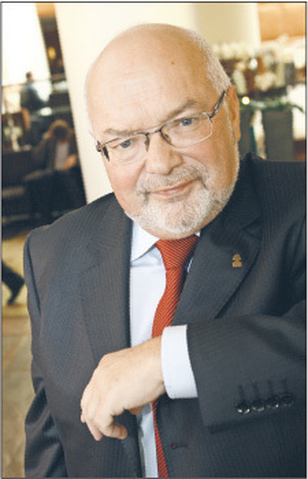 Prof. Krzysztof Pawłowski, rektor Wyższej Szkoły Biznesu National-Louis University w Nowym Sączu Fot. Wojciech Górski