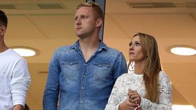 Tak Kamil Glik świętował rocznicę ślubu