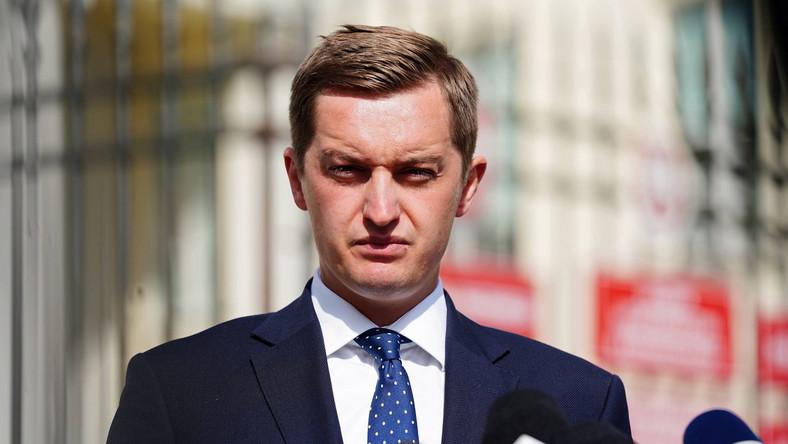 Wiceminister sprawiedliwości Sebastian Kaleta PAP/Mateusz Marek