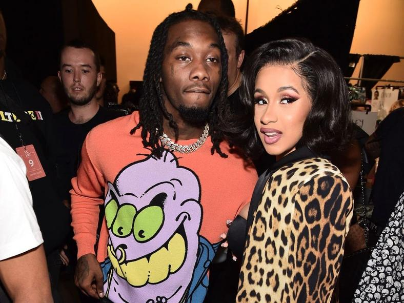 Offset and Cardi B.