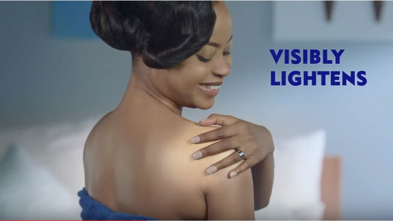 Omowunmi Akinnifesi for Nivea Natural Fairness Lotion ad