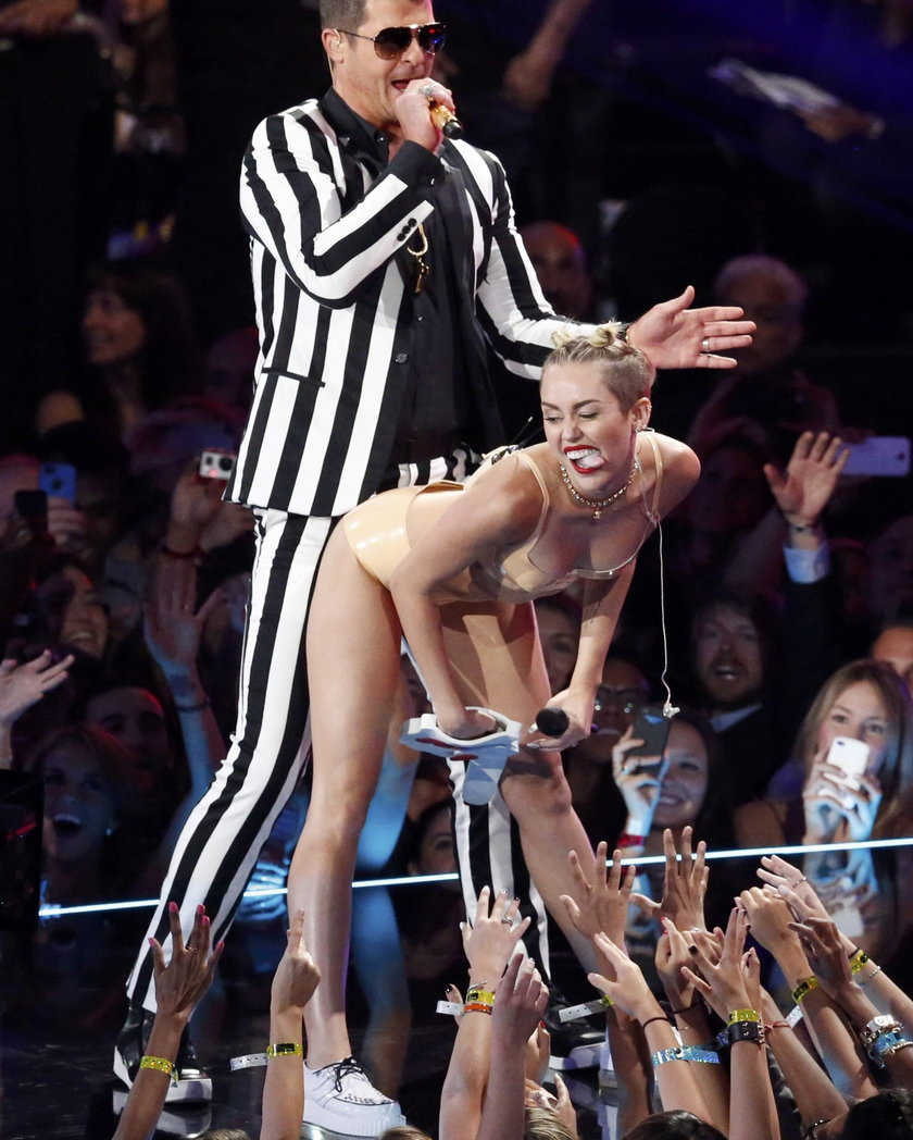 Miley Cyrus na scenie