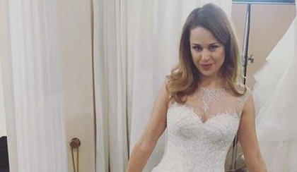 Kaja Paschalska w sukni ślubnej. Gorzkie słowa o byłych narzeczonych