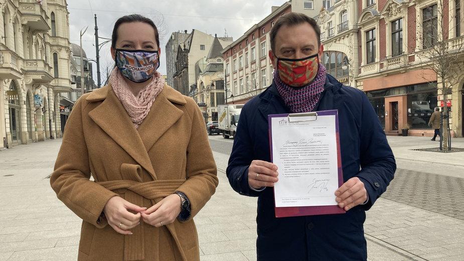 Polityczny spór wokół dyrektora 34. LO w Łodzi