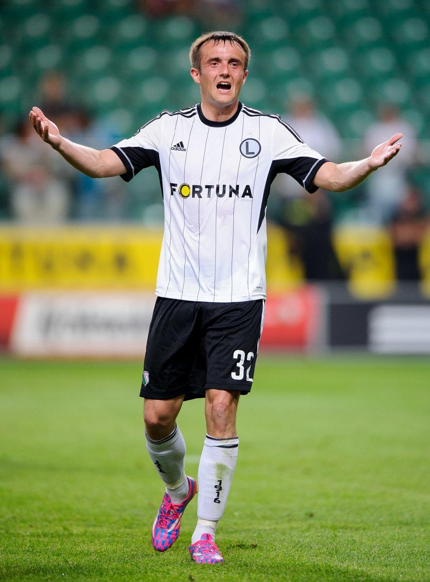 Radović chce zostać w Legii do końca kariery