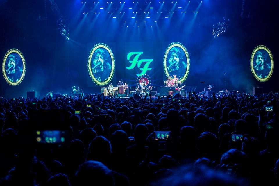 Koncert Foo Fighters w Tauron Arena Kraków