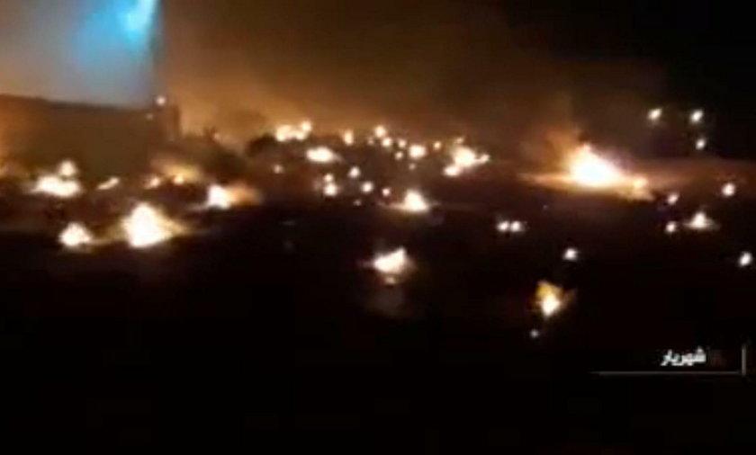 Nowe nagranie z zestrzelenia ukraińskiego boeinga