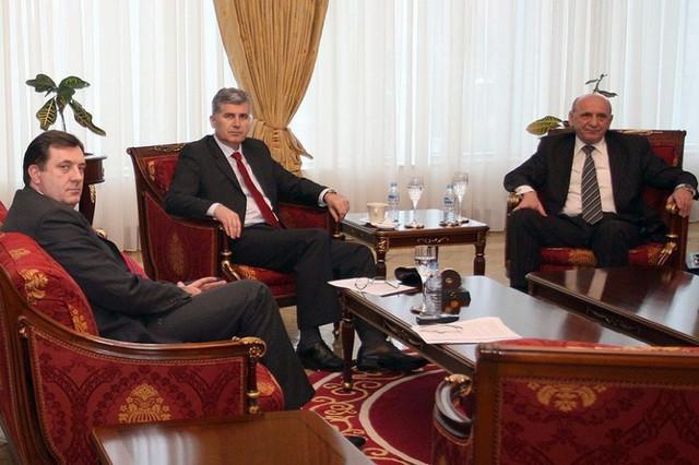 Milorad Dodik, Dragan Čović i Sulejman Tihić