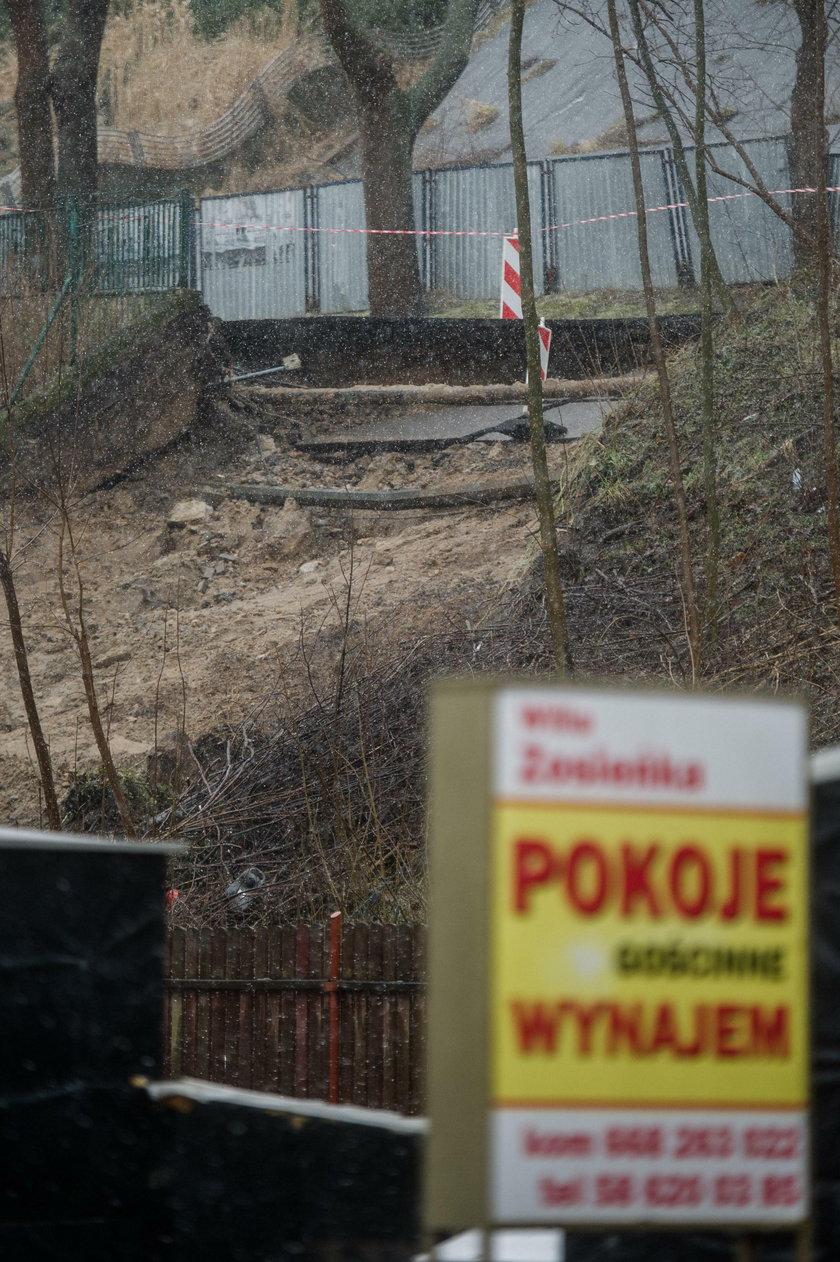 Chwile grozy w Gdyni
