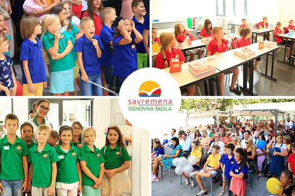 Android vest Na Novom Beogradu svečano otvorena Savremena osnovna škola