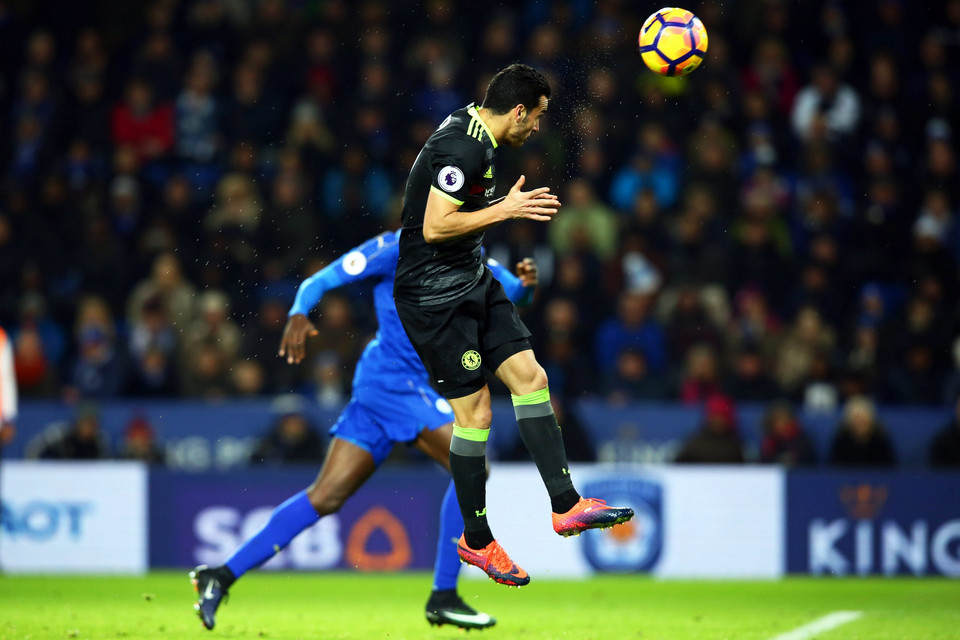BRITAIN SOCCER ENGLISH PREMIER LEAGUE (Leicester City vs Chelsea FC)