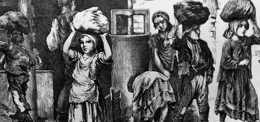 Koszmarny żywot najmłodszych robotników. Zmuszali dzieci do katorżniczej pracy