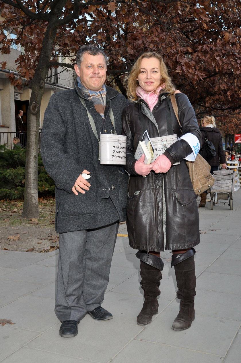Tadeusz Chudecki i Katarzyna Chrzanowska