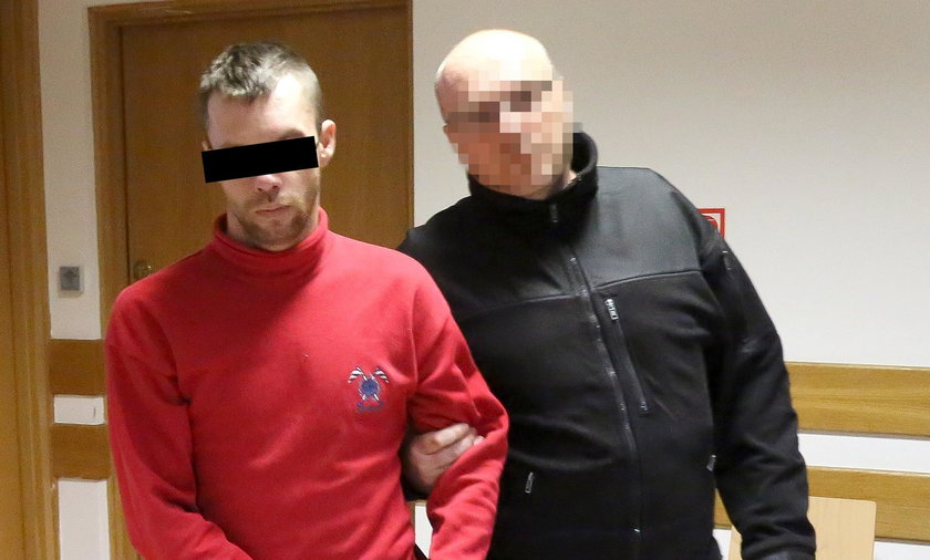 To on miał zabić Krzysztofa Leskiego. Doprowadzono go przed oblicze sądu