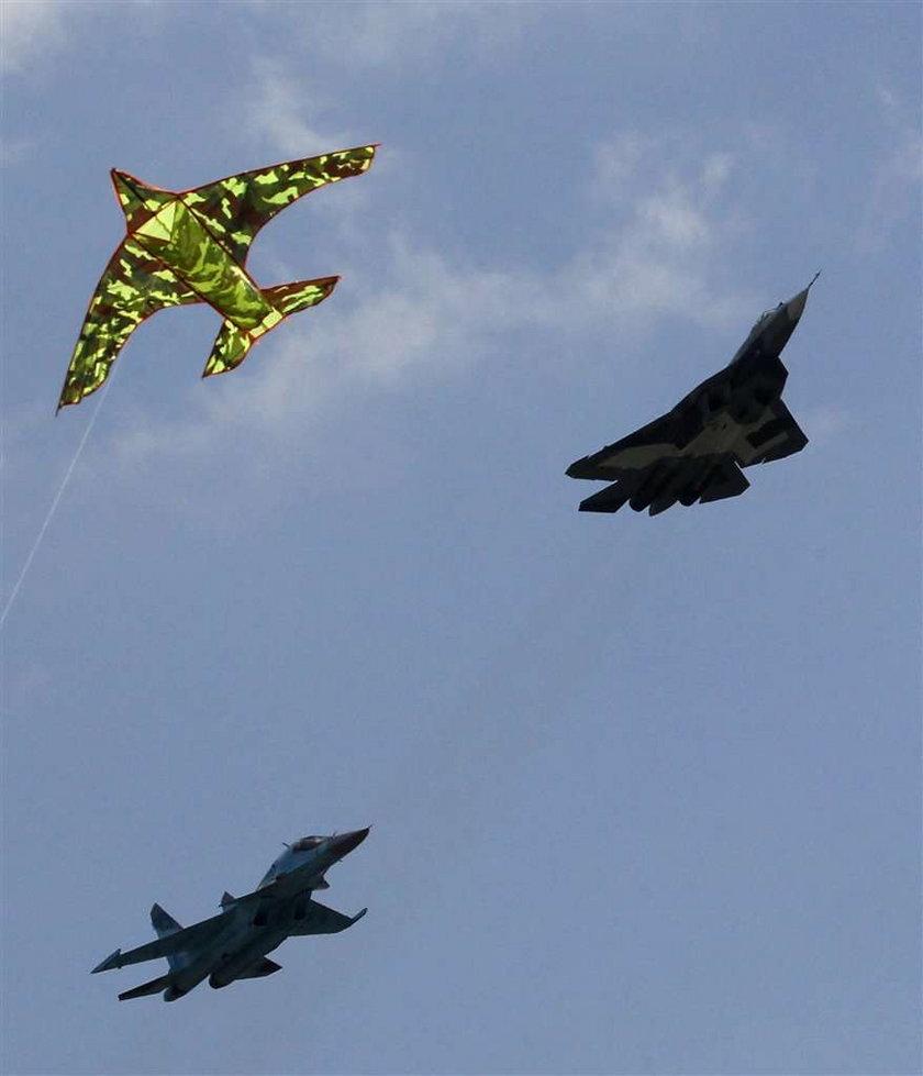 Pokazy lotnicze w Rosji