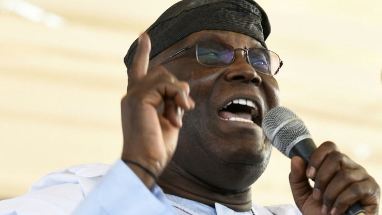 Atiku Abubakar says the PDP is a shining example of constitutionality [AFP]