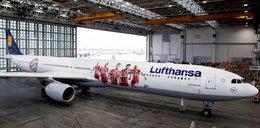 Lewandowski jest już nawet na samolotach