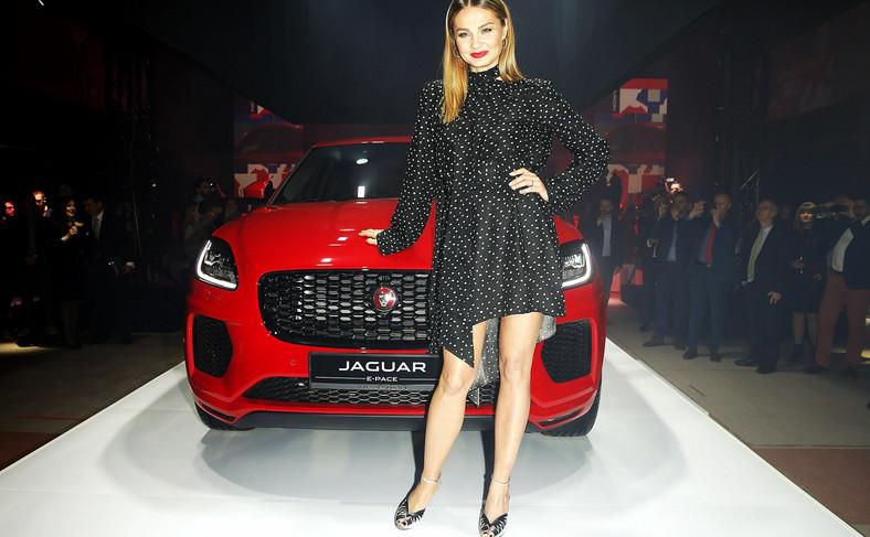 Małgorzata Socha i Jaguar E-Pace